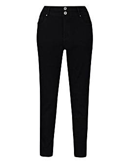 Petite Black Shape & Sculpt Skinny Jeans