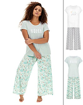Pretty Secrets Christmas 2 Pack PJ Sets