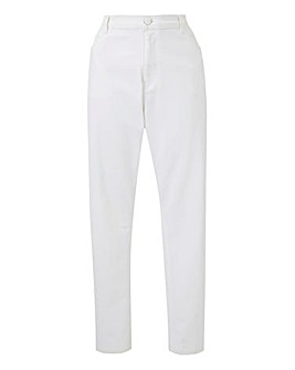 White Everyday Slim Leg Jeans