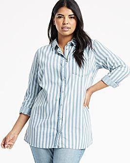 Stripe Denim Shirt