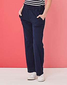Supersoft Premium Jersey Denim Wide Leg