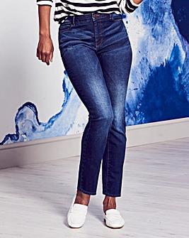 Indigo Bridget Straight Jeans Regular