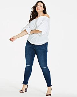 Indigo Chloe Ripped Skinny Jeans