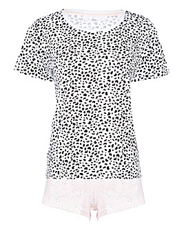 Boux Avenue Dalmation Shortie PJ Set