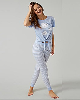 Boux Avenue Slogan Tee & Pant Set