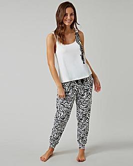 Boux Avenue Zebra Vest & Pant PJ Set