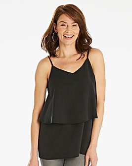 Soft Tencel Double Layer Cami