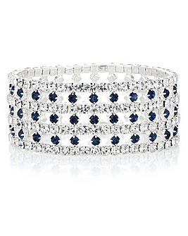 Mood Diamante Cut Out Bracelet