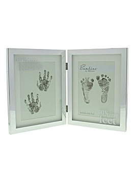 Bambino Silver Plated Frame Ink Prints