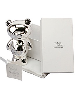 Gift Boxed Silver Plated Money Bank
