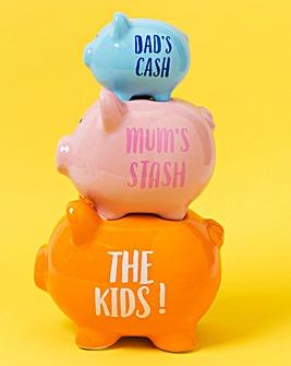 The Kids Piggy Saving Funds