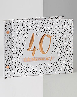Luxe Birthday Guest & Photos Books