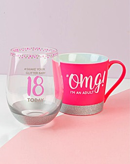Special Birthday Mug and Glass Set
