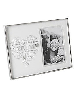 Heartfelt Moments Mum Photo Frame