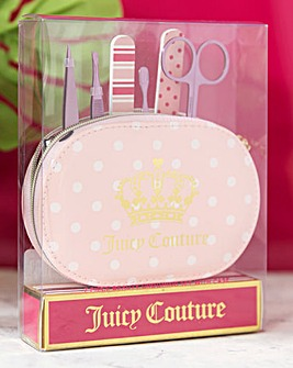 Juicy Couture Oval Manicure Set with Bag