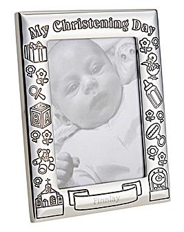 Personalised SP Christening Photo Frame