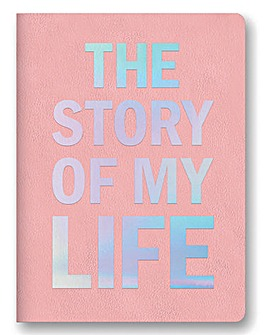 The Story of My Life Leatherette Journal