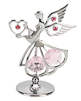 Crsytocraft Sacred Angel with Heart