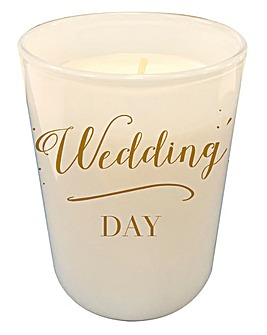 Wedding Day Candle