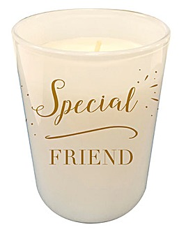 Special Friend Candle