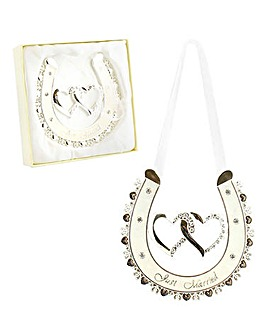 Gift Boxed Lucky Horseshoe Wedding Gift