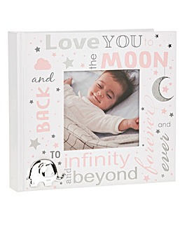 Love You To The Moon Baby Photo Album