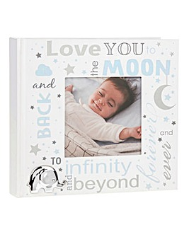 Love You To The Moon Baby Photo Frame