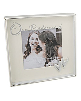 Bridesmaid 3x3 Photo Frame