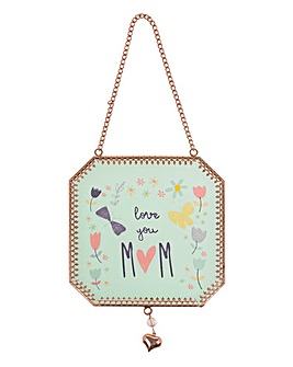 Mum Hanging Plaque