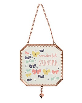 Grandma Hanging Plaque