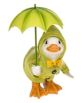 Puddle Duck with Brolly