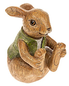 Bunny Sitting Figure