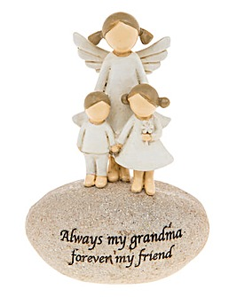 Grandma Angel Stone