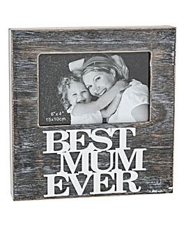 Best Mum Ever Frame