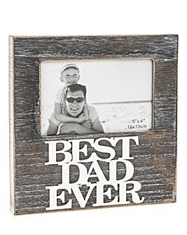 Best Dad Ever Frame