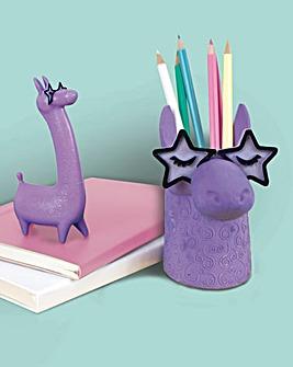 Famalam Llama Pen & Eraser Pen Pot