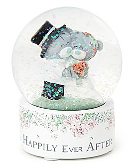 Me to You Happily Ever After Snow Globe