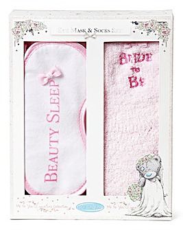 Me to You Bride Eye Mask & Socks Set