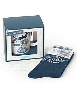 Me to You Grandad Mug and Socks Set