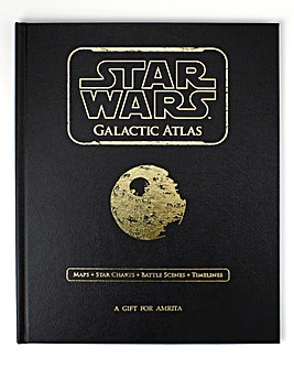 Personalised Star Wars Galactic Atlas