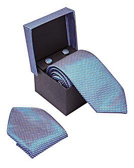 Tie, Square, Cufflinks Gift Box
