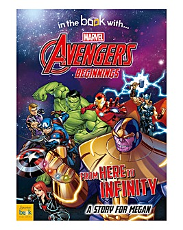Personalised Softback Marvel Book