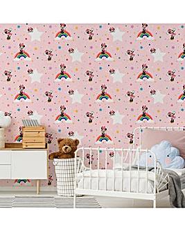 Disney Rainbow Minnie W/Paper