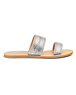 Rumi Diamante Mule Wide Fit