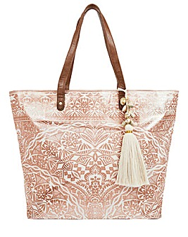 Accessorize Kea Rose Gold Tote