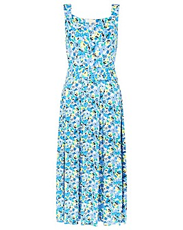 Monsoon Floral Printed Jersey Sundress