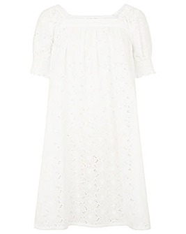 Monsoon SCHIFFLEY SQUARE NECK DRESS