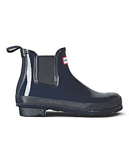 Hunter Chelsea Gloss One Tab Welly