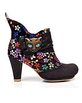 Irregular Choice Miaow Ankle Boots