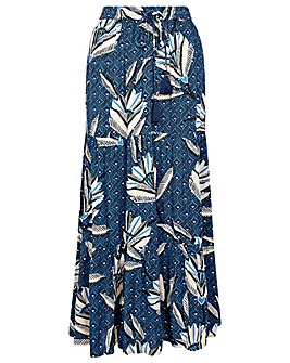 Monsoon ZOLA PRINTED MAXI SKIRT